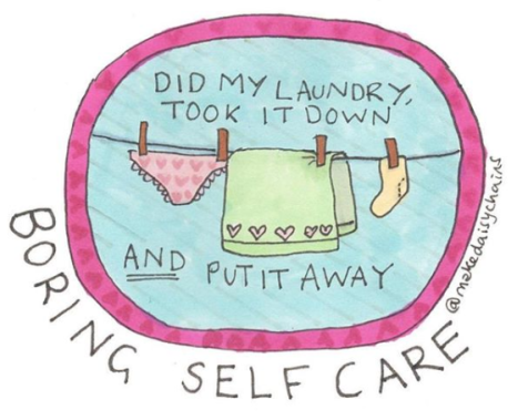 boring self care